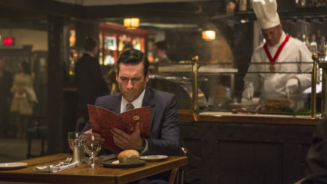Jon Hamm as Don Draper - Mad Men _ Season 7B, Episode 8 - Photo Credit: Justina Mintz/AMC